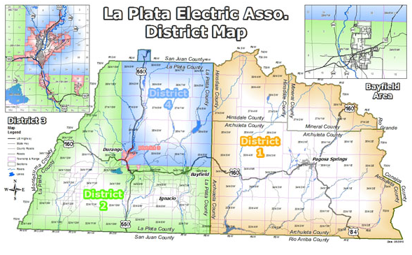 LPEA Districts Map